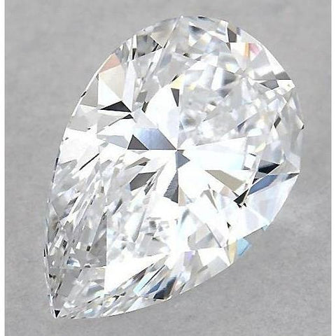 6.5 Carats Pear Diamond Loose D Vs1 Very Good Cut Diamond