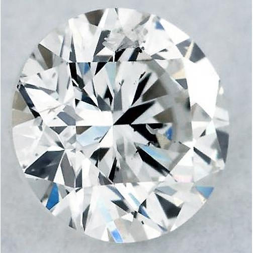 6.5 Carats Round Diamond H Si1 Very Good Cut Loose Diamond