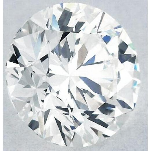 6.5 Carats Round Diamond H Vvs2 Excellent Cut Loose Diamond