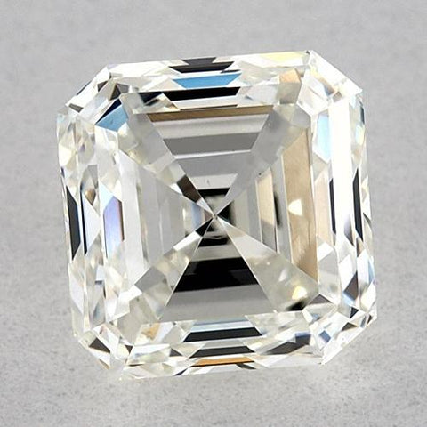 7 Carats Asscher Diamond Loose K Vvs2 Very Good Cut Diamond