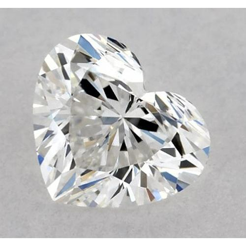 7 Carats Heart Diamond Loose D Vvs2 Very Good Cut Diamond