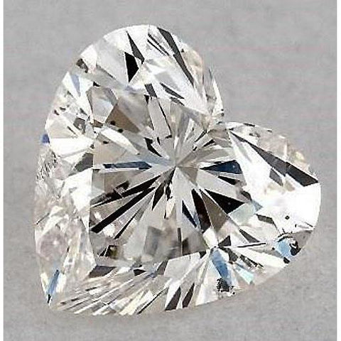 7 Carats Heart Diamond Loose F Si1 Good Cut Diamond