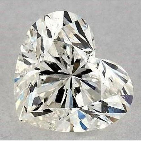 7 Carats Heart Diamond Loose G Si1 Good Cut Diamond