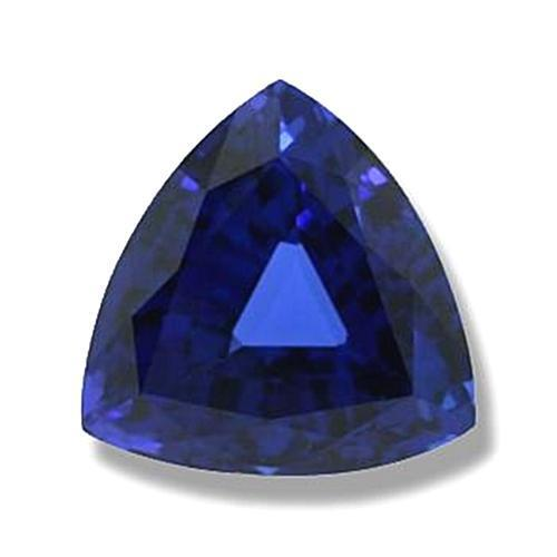 7 Carats Loose Ceylon Blue Sapphire Gem-Stone Trilliant Cut Natural Gemstone Loose