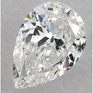 7 Carats Pear Diamond Loose F Vs1 Very Good Cut Diamond