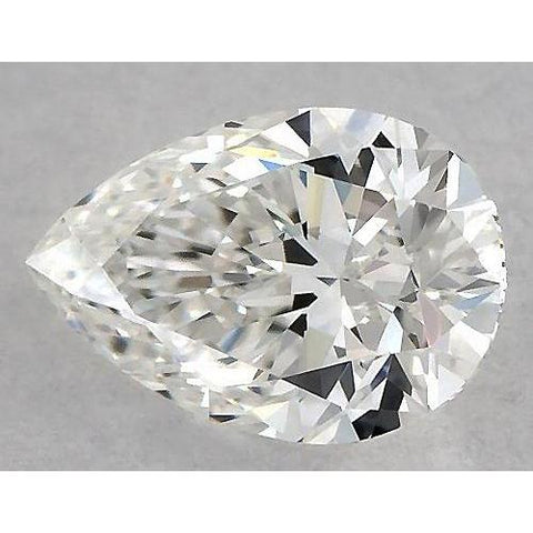 7 Carats Pear Diamond Loose H Vs1 Very Good Cut Diamond