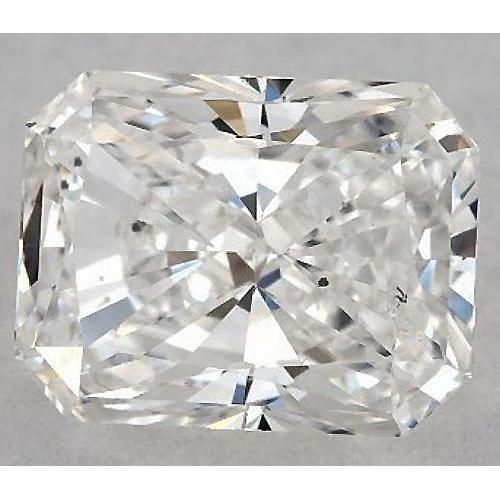 7 Carats Radiant Diamond Loose G Si1 Good Cut Diamond