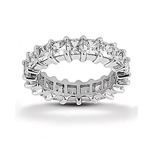 9 Ct. Diamonds Eternity Band Gold Ring New Eternity Band