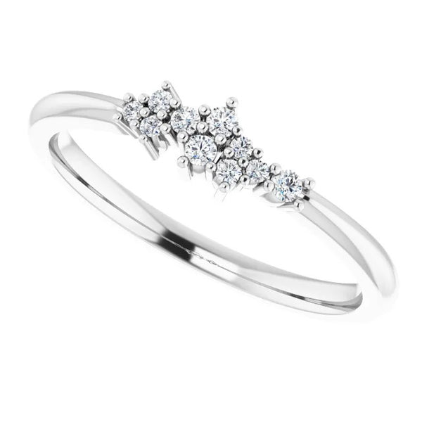 Band Diamond Anniversary Band 1.40 Carats Women Jewelry