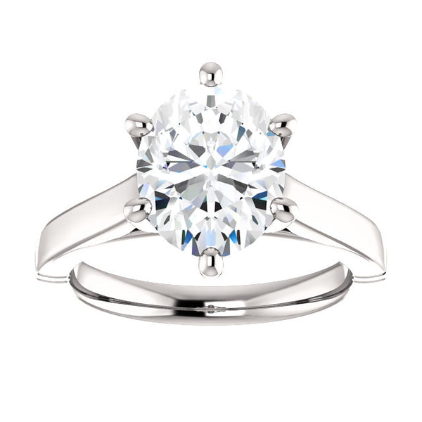 Solitaire Ring Solitaire Diamond Ring 3.50 Carats Jewelry New