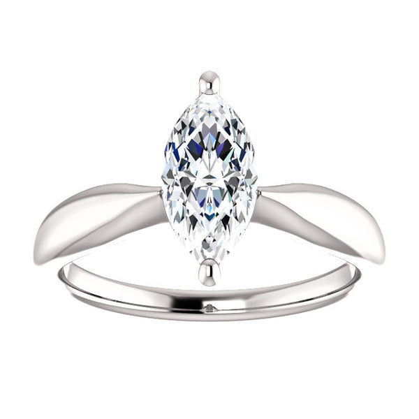 Solitaire Ring Solitaire Marquise Diamond Ring 2.50 Carats
