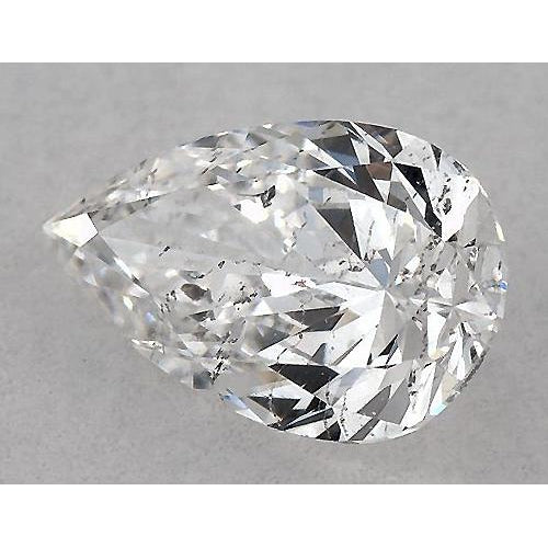 4.5 Carats Pear Diamond loose F SI1 Good Cut