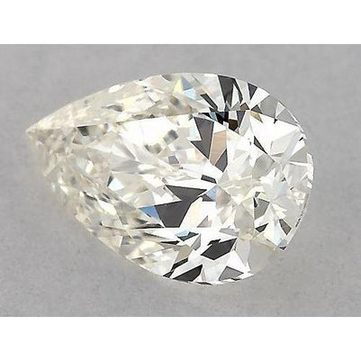 2.5 Carats Pear Diamond loose H VVS2 Very Good Cut