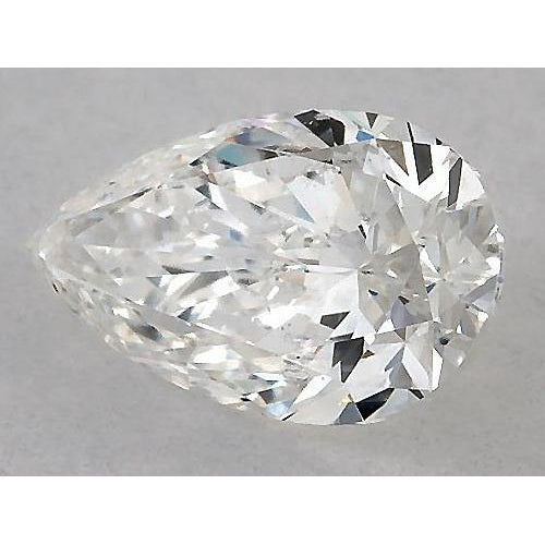 3.25 Carats Pear Diamond loose I VS2 Very Good Cut