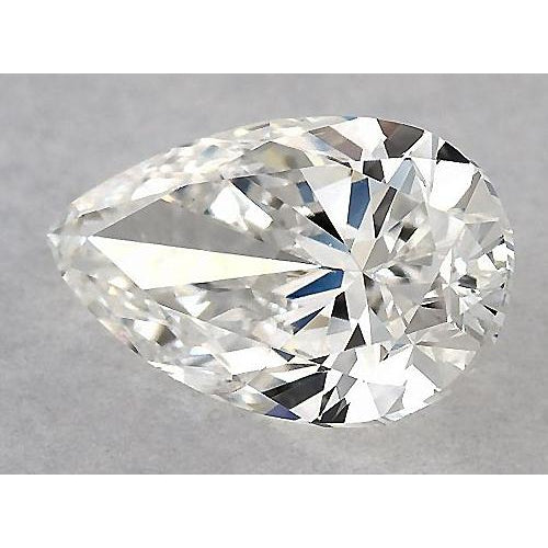 4.75 Carats Pear Diamond loose H VVS1 Very Good Cut
