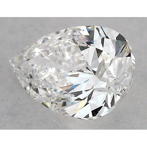 5 Carats Pear Diamond Loose F Si1 Good Cut Diamond