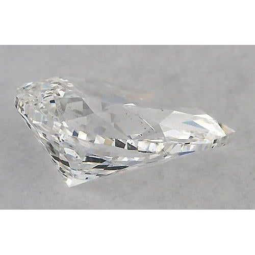 5 Carats Pear Diamond loose F SI1 Good Cut