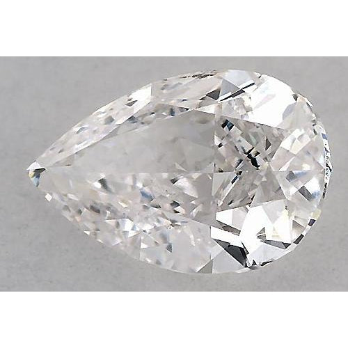2.75 Carats Pear Diamond loose G SI1 Good Cut