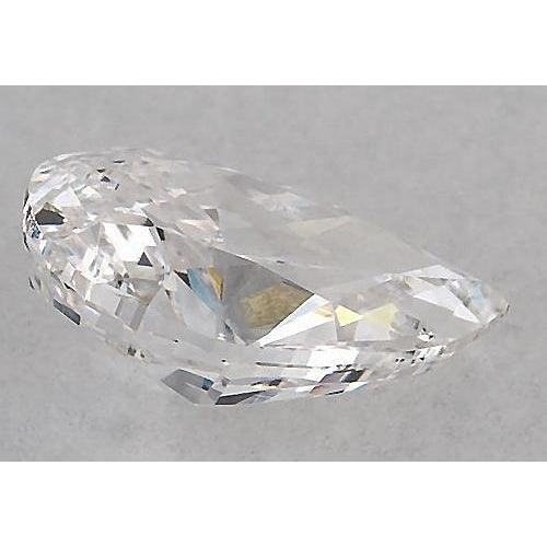 Diamond 5.5 Carats Pear Diamond Loose H Si1 Good Cut