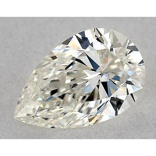 2 Carats Pear Diamond loose K VS1 Very Good Cut