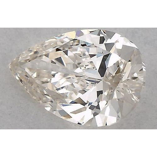 0.50 Carats Pear Diamond loose K SI1 Good Cut