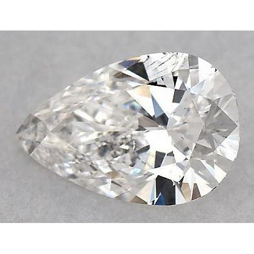 2.75 Carats Pear Diamond loose H VS2 Very Good Cut