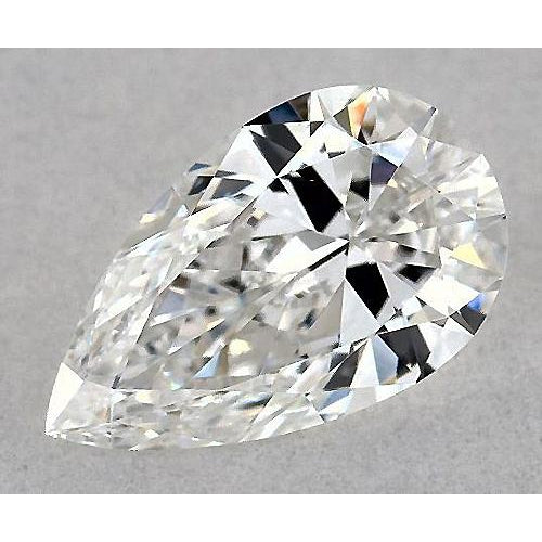 4 Carats Pear Diamond loose J SI1 Good Cut