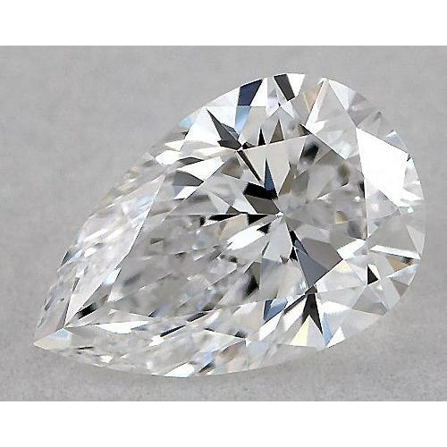 3.25 Carats Pear Diamond loose I SI1 Good Cut