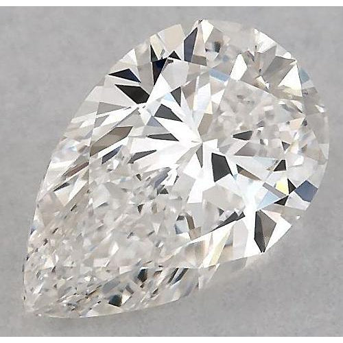 4.5 Carats Pear Diamond loose J SI1 Good Cut