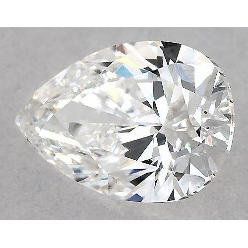 6 Carats Pear Diamond loose J VS1 Very Good Cut