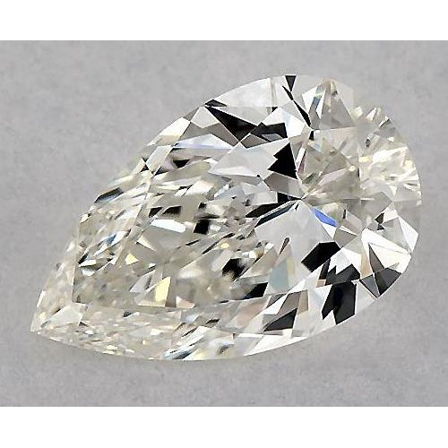 1.75 Carats Pear Diamond loose J SI1 Good Cut