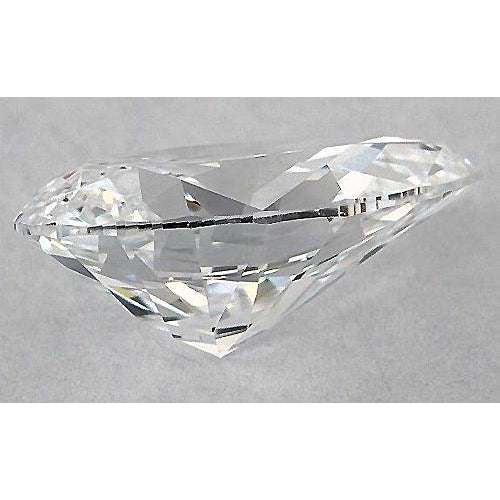 2.25 Carats Pear Diamond loose J VS2 Very Good Cut