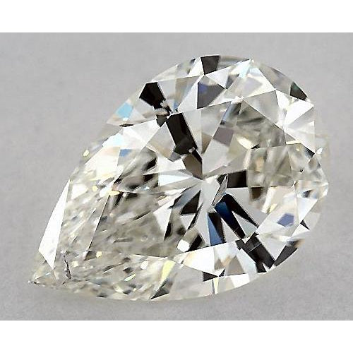 3 Carats Pear Diamond loose K SI1 Good Cut