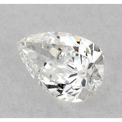 2.75 Carats Pear Diamond loose E VS2 Very Good Cut
