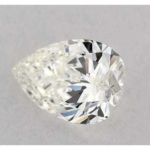 2 Carats Pear Diamond loose E VS2 Very Good Cut