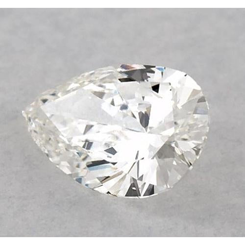 6 Carats Pear Diamond loose F VS2 Very Good Cut