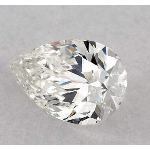 2.75 Carats Pear Diamond Loose F Si1 Good Cut Diamond