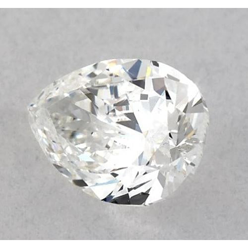 6.5 Carats Pear Diamond loose F SI1 Good Cut