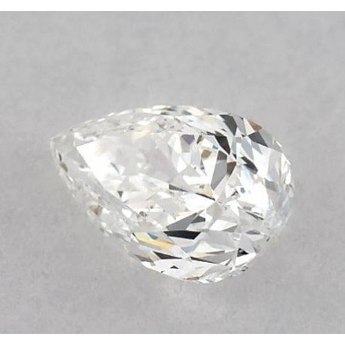 2 Carats Pear Diamond loose F SI1 Good Cut