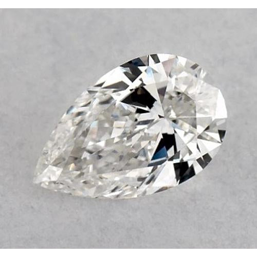 1.5 Carats Pear Diamond loose E VS2 Very Good Cut