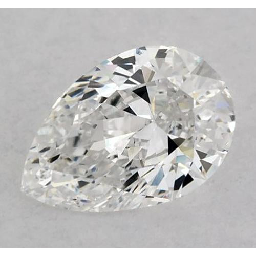 7 Carats Pear Diamond loose F SI1 Good Cut