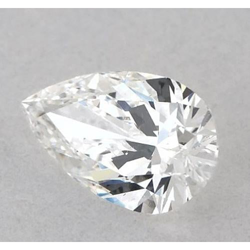 3.75 Carats Pear Diamond loose H VS1 Very Good Cut