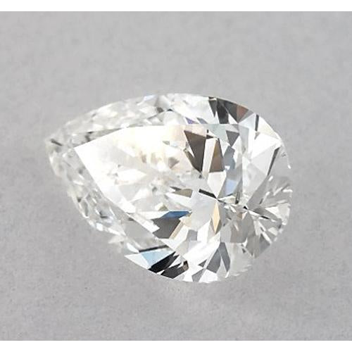 2 Carats Pear Diamond loose F VS1 Very Good Cut