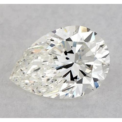 6 Carats Pear Diamond Loose H Vs1 Very Good Cut Diamond