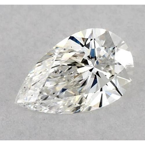 4 Carats Pear Diamond loose F VS1 Very Good Cut