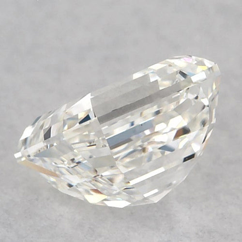 2.75 Carats Asscher Diamond loose G FL Very Good Cut