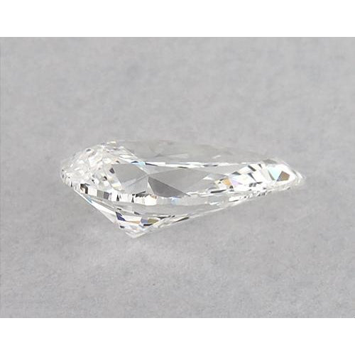 1 Carats Pear Diamond loose F VS1 Very Good Cut