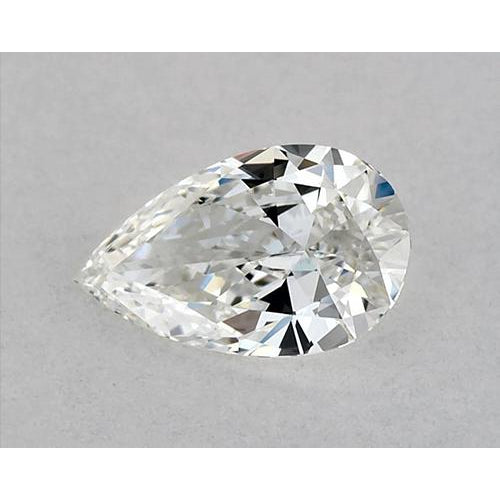 1.75 Carats Pear Diamond loose H VVS1 Very Good Cut