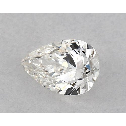 0.75 Carats Pear Diamond loose H VVS1 Very Good Cut