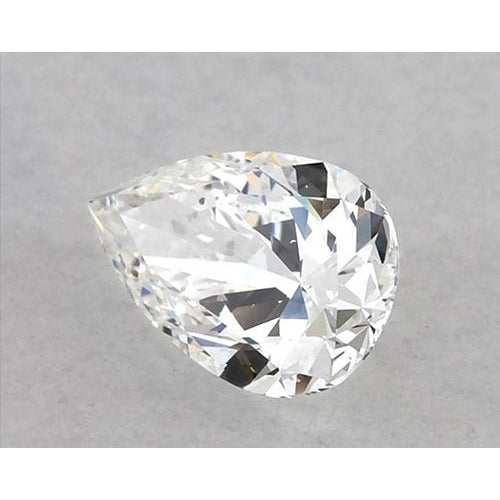 1.25 Carats Pear Diamond loose E VS1 Very Good Cut